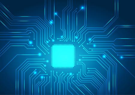 circuit board background texture.vector Stock Illustratie