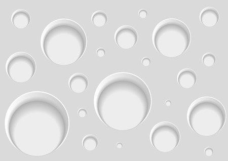 Abstract background with holes. Vector illustration.