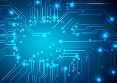 Vector. Digital technologies abstract background. Stock Illustratie
