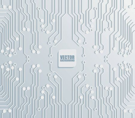 circuit: circuit board background texture.vector illustration.