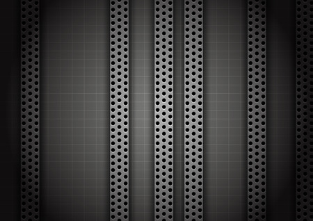 modern wallpaper: abstract metal background.vector illustration
