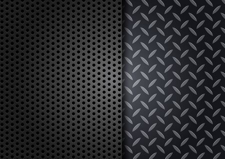 Metal Texture Background.vector illustration Illustration