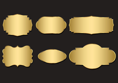 Badges of Gold Seal Set
