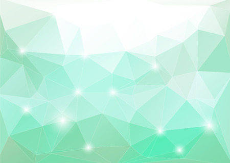 abstract polygonal background. Illustration