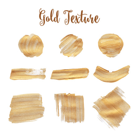 Gold texture. A water color background for festive inscriptions, cards, invitations, congratulations and design.