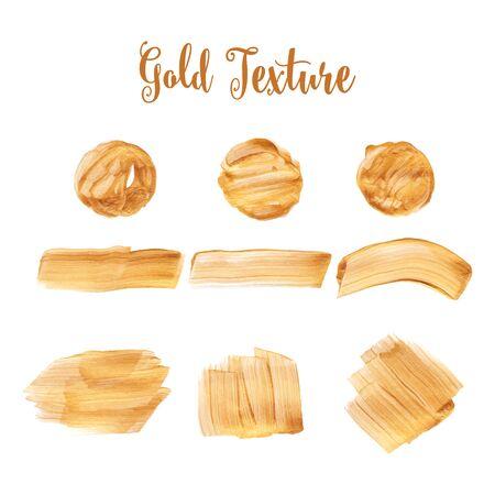 Textura del oro. Un fondo de color de agua para festivas inscripciones, tarjetas, invitaciones, felicitaciones y diseño. Foto de archivo - 43565457