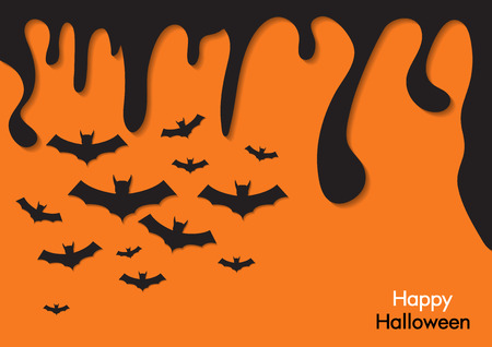 Background for halloween.vector illustrations