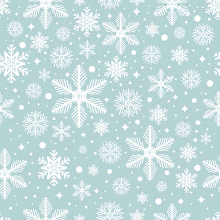 seamless pattern with snowflakes. Christmas Background
