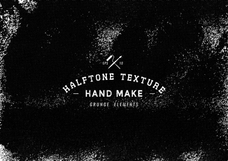 Grunge halftone background.Halftone dots vector texture