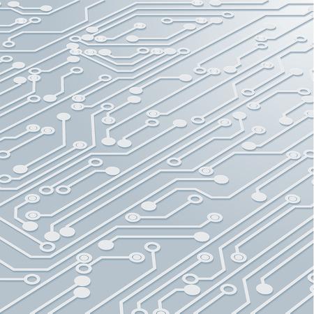 Leiterplatte-Hintergrund-Beschaffenheit, Vektor-Illustration. Vektorgrafik