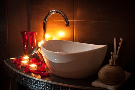 Romantic spa
