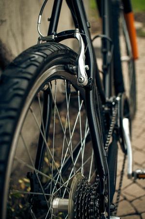Bicycle rear v brakes Zdjęcie Seryjne