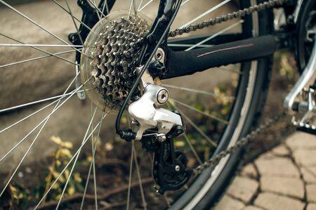 Przerzutka rowerowa Zdjęcie Seryjne