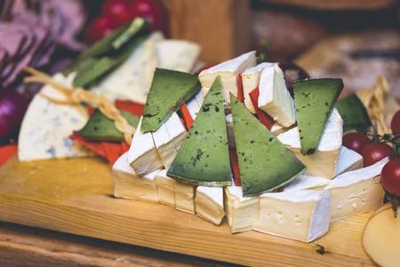 Mature green cheese