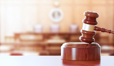 Gavel, hammer for judge Banque d'images