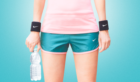 Nike sports wear, woman fitness