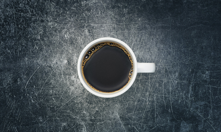 Cup of coffee, 3d render illustration
