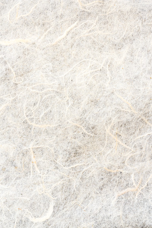 japanese paper: The texture of white color mulberry paper Stock Photo