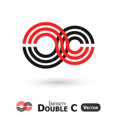 infinity sign: Double C Infinity  ( Infinity Sign look like C shape )