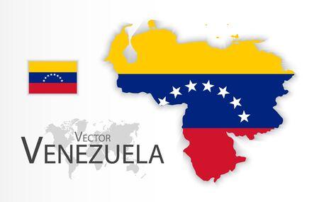 mapa de venezuela: caballo divertido