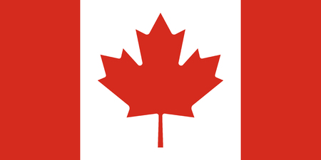 simplex: Official flag of Canada .