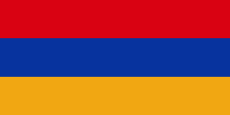 simplex: Official flag of Armenia . Republic of Armenia .