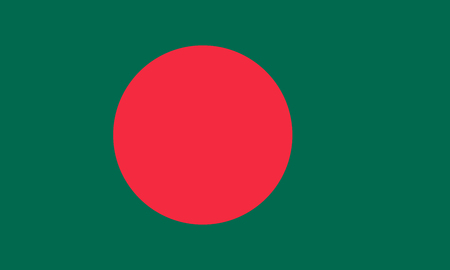 simplex: Official flag of Bangladesh . Peoples Republic of Bangladesh .