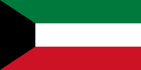 simplex: Official flag of Kuwait . State of Kuwait .