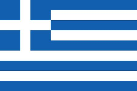 hellenic: Official vector flag of Greece . Hellenic Republic .