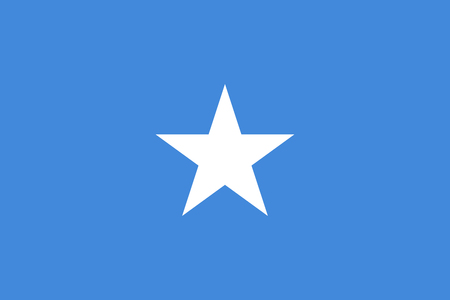 simplex: Official vector flag of Somalia . Federal Republic of Somalia .