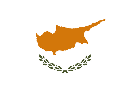simplex: Official vector flag of Republic of Cyprus .