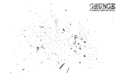 Grunge style of dust particles background and texture . Vector . Illustration