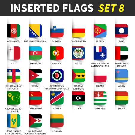 All flags of the world.