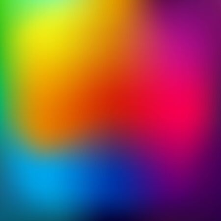 Abstract rainbow background. Blurred colorful rainbow background. Mesh background of rainbow colors. Illustration Stock Photo