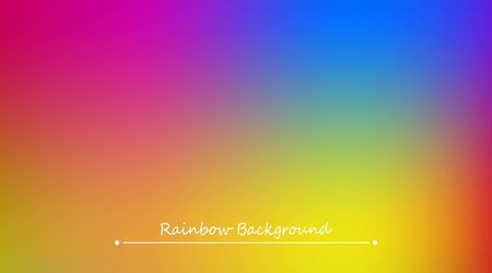 Abstract rainbow colorful illustration pattern.