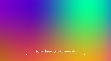 Abstract rainbow color cover template pattern.