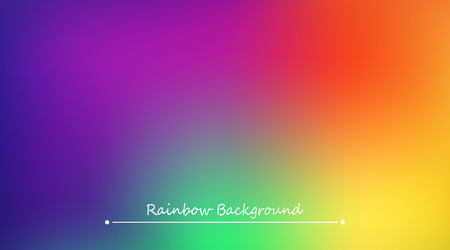 Abstract rainbow background. Blurred colorful rainbow background. Mesh background of rainbow colors. Vector illustration Ilustrace
