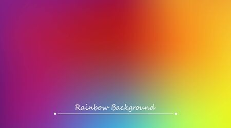 Abstract rainbow background. Blurred colorful rainbow background. Mesh background of rainbow colors. Vector illustration Illustration