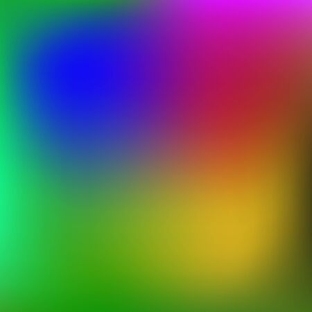 Abstract rainbow background. Blurred colorful rainbow background. Mesh background of rainbow colors. Vector illustration. Vectores