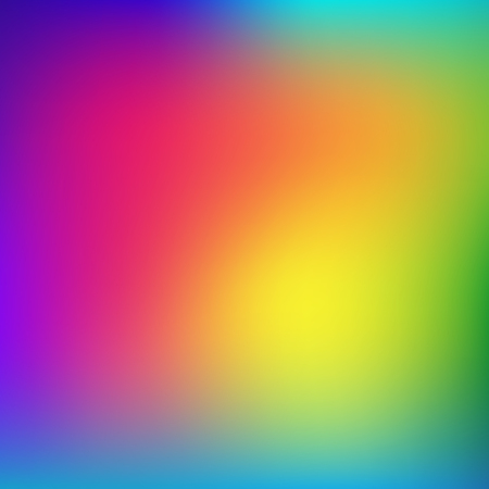 Abstract rainbow background. Blurred colorful rainbow background. Mesh background of rainbow colors. Vector illustration Иллюстрация