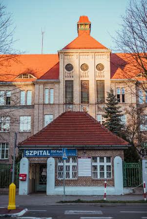 Hospital in Nysa city, 14.03.2020 Nysa, Poland