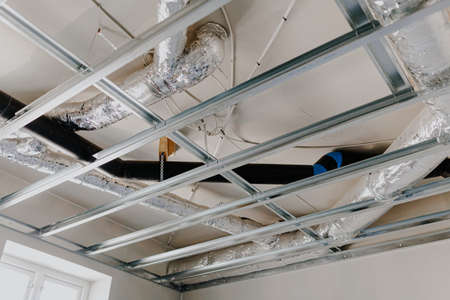 renovation of the suspended ceiling