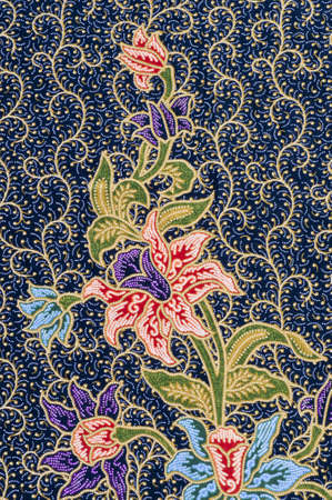 This is general native thai-style handmade fabric pattern Stock Photo - 9274467