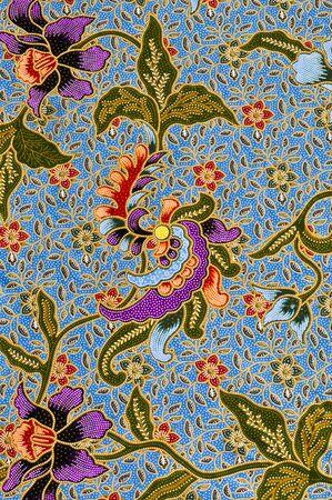 C'est en g?n?ral natif thai-style de motif de tissu ? la main