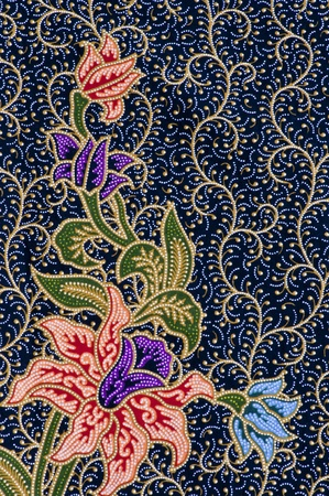 This is general native thai-style handmade fabric pattern photo