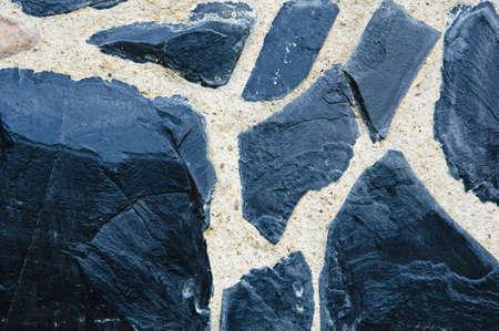 Art moderne avec des pierres.