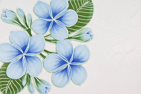 Color� de fleur de tuiles.