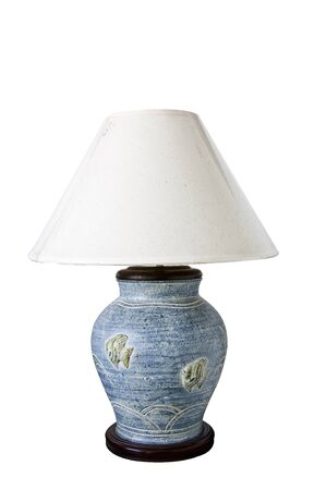 Desk lamp 0n white background