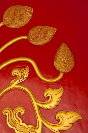 Thai style art carving with handmace. Stock Photo - 9949995