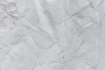 detail of old wrinkled paper texture background